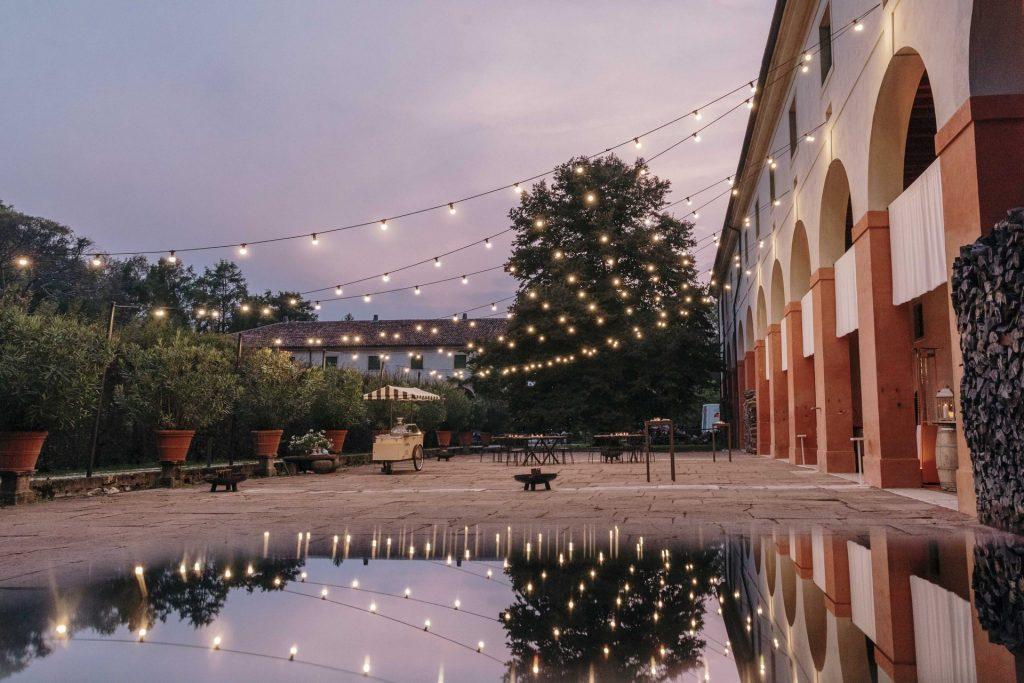 matrimonio villa brandolini vistorta illuminazione