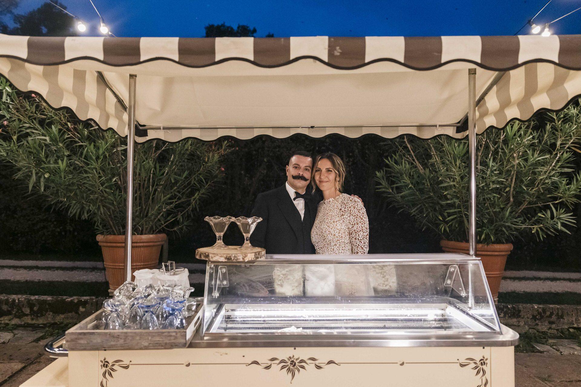 sposi gelato torta matrimonio pordenone villa brandolini vistorta