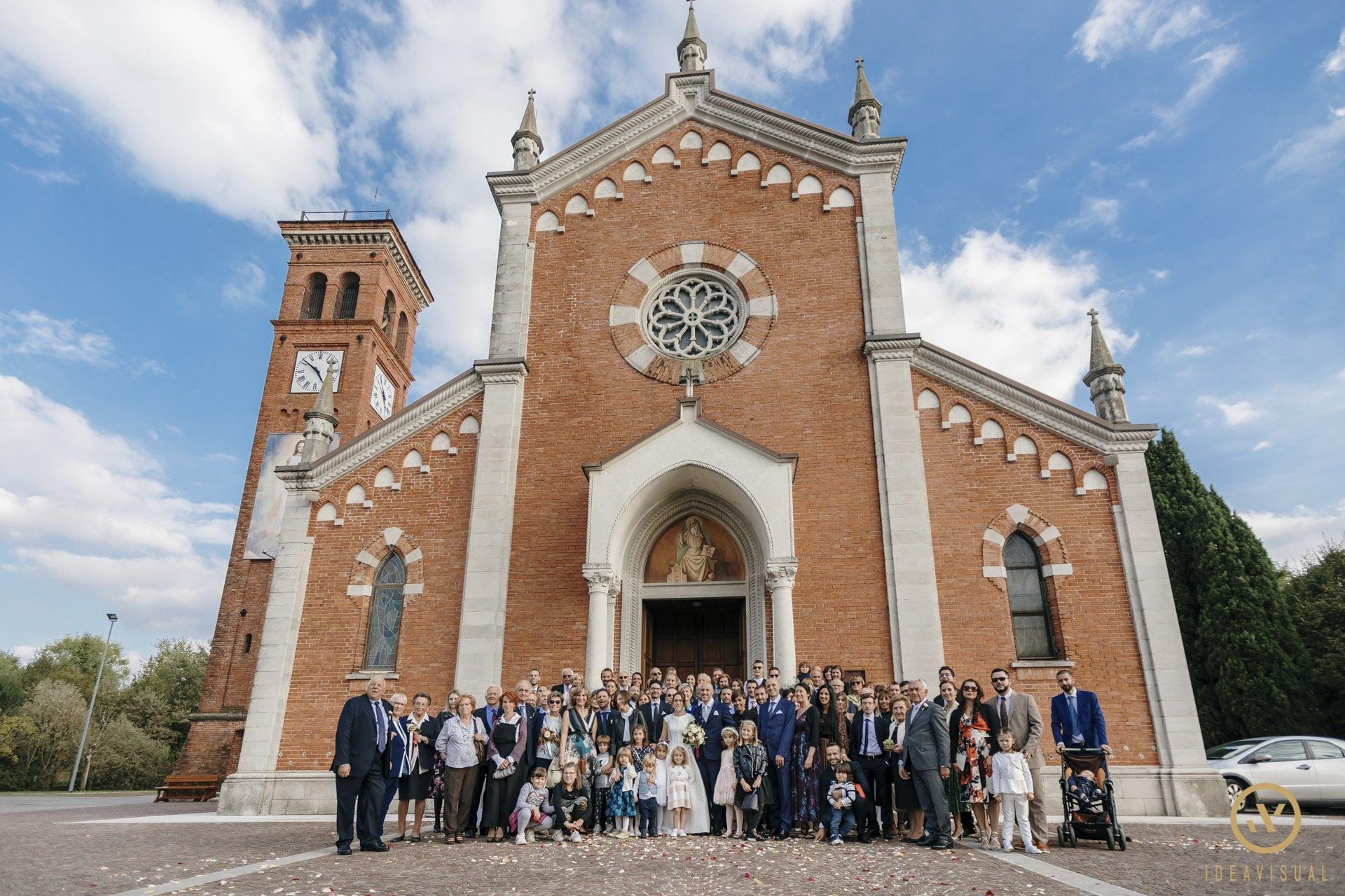 foto gruppo chiesa matrimonio pasiano pordenone