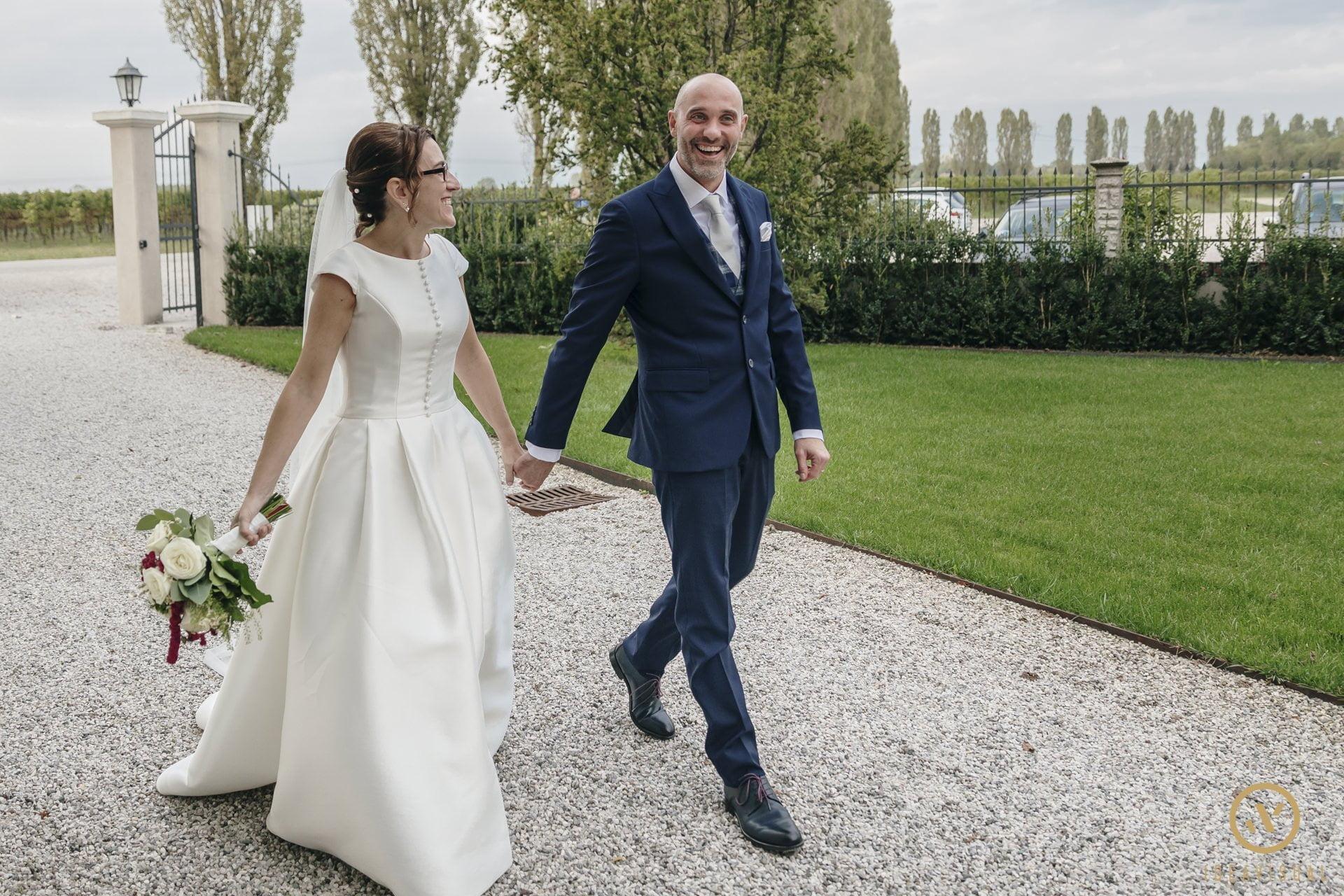 ingresso sposi villa matrimonio tenuta polvaro