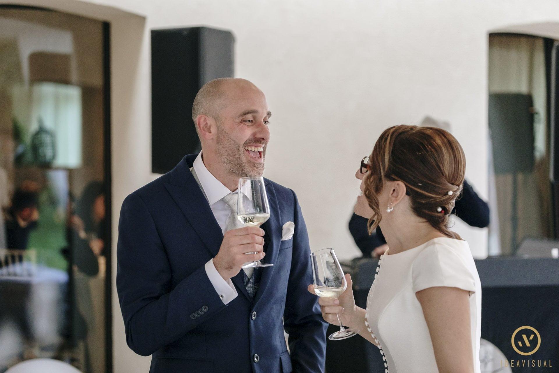 foto brindisi sposi matrimonio tenuta polvaro