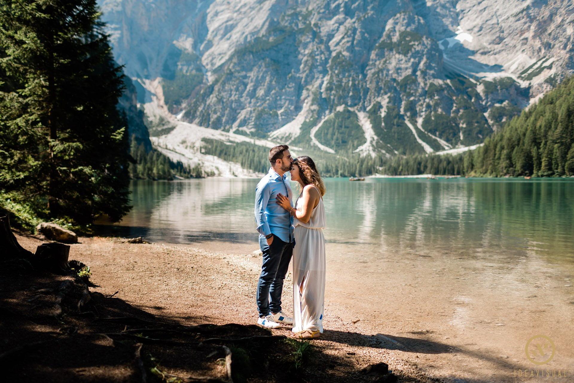 Prematrimoniale al lago di Braies
