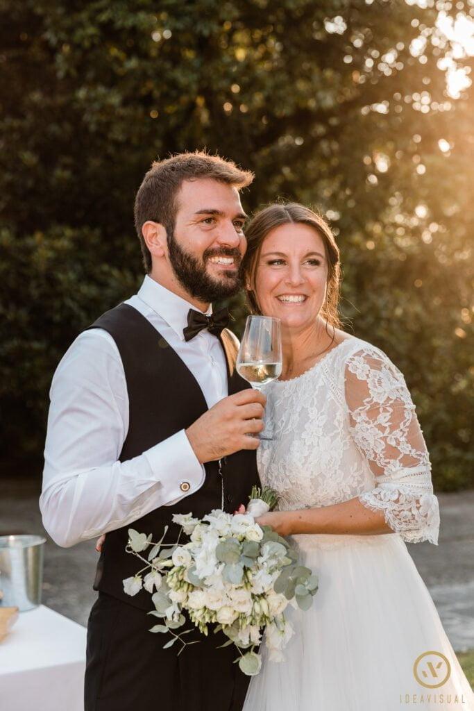 Matrimonio a tema gin tonic a villa frattina