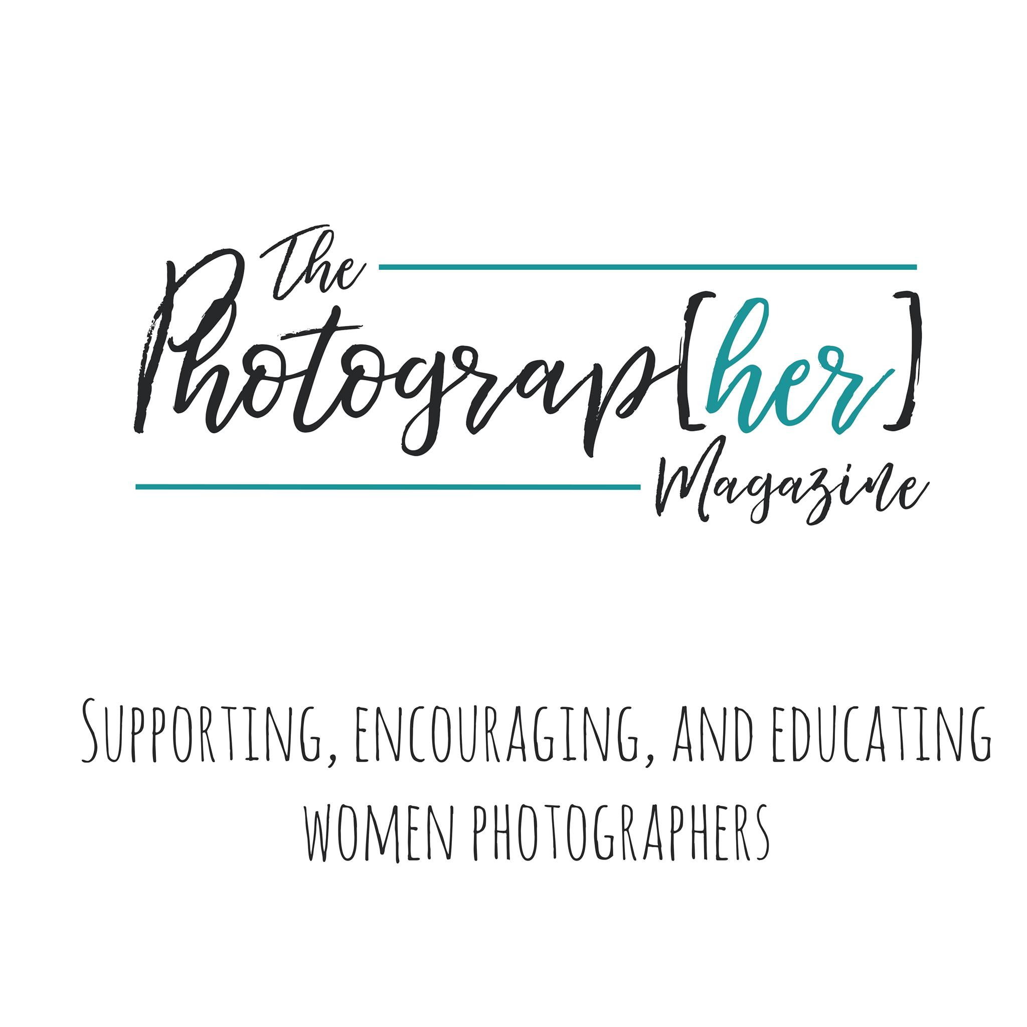 Logo The-Photograp.her magazine