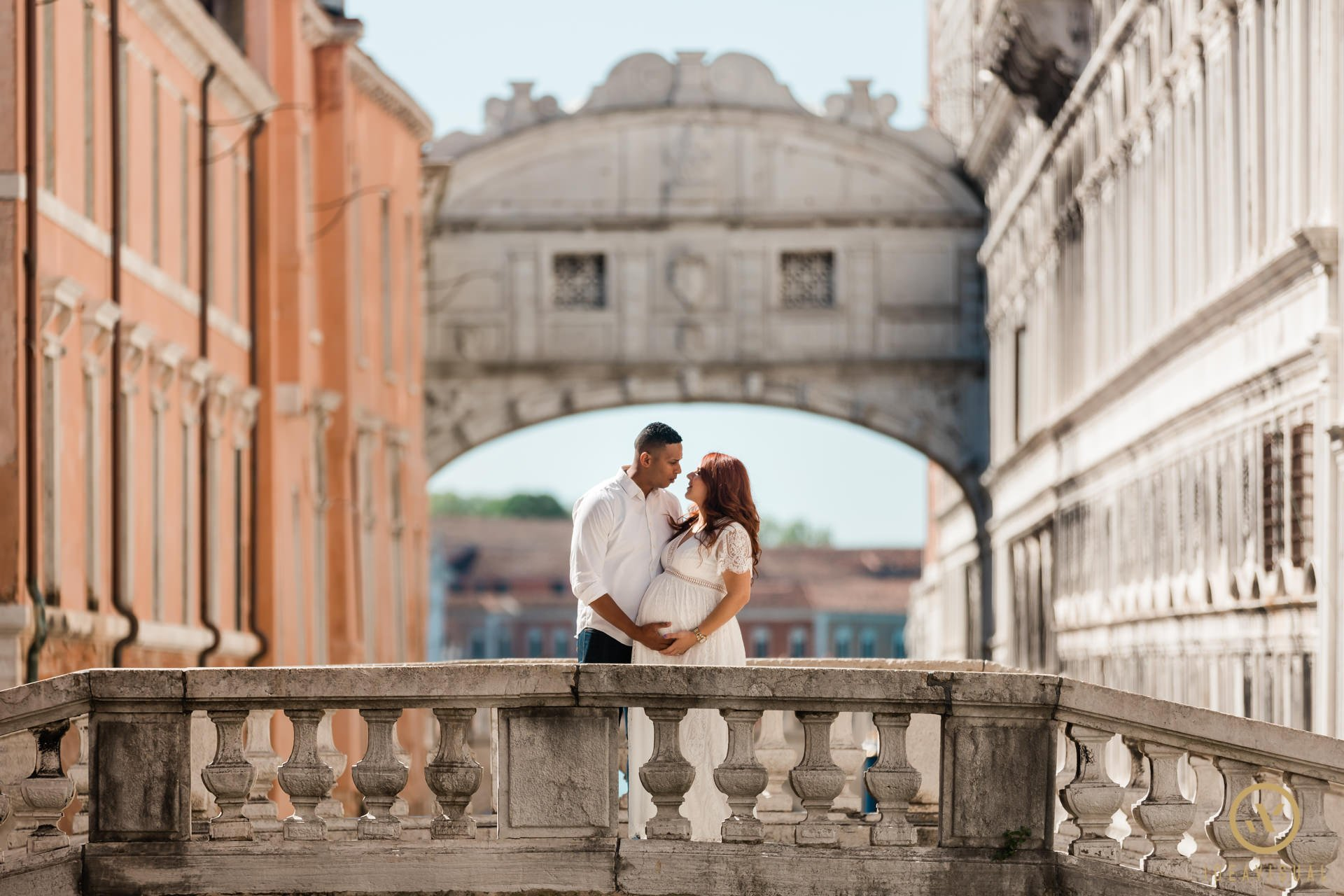 servizio fotografico di maternità a venezia